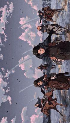 Aot Wallpaper, Anime Wallpaper Phone, Cool Anime Wallpapers, Animes Wallpapers, Attack On Titan Fanart, Attack On Titan Levi, Otaku Anime, Anime Art, Attack On Titan Aesthetic