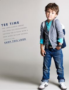 I can see Dorian wearing this when he's older.
