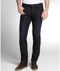 Navy Skinny Jeans by Gucci. Buy for $575 from Bluefly