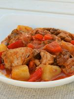 This is another one of Spain's influences on the Filipino cuisine. However, this tomato based stew differs from the Spanish because of its use of patis and ginger.