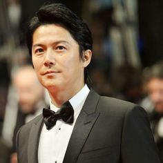 Masaharu Fukuyama (Japan) on the red carpet as he arrives for the screening of the film 'Like Father, Like Son' at Cannes Film Festival. 福山雅治