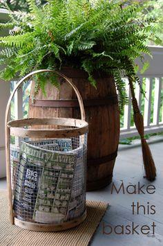 DIY Basket Tutorial!