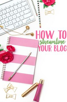 Get ready to save time online! Learn how to streamline your blog with these time management and productivity tips.