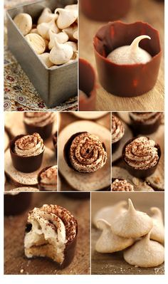 Un petit air d'Angelina Entremet Recipe, My Favorite Food, Favorite Recipes, Chestnut Recipes, Cupcake, French Patisserie, Biscuit Cookies, Pastry Cake, Brownie Bar