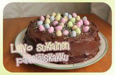 Leivo suklainen pääsiäiskakku Birthday Cake, Desserts, Top, Tailgate Desserts, Deserts, Birthday Cakes, Postres, Dessert, Crop Shirt