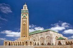 Mesquita Hassan II Mesquita em Casablanca, Marrocos -  Caminhos & Labirintos