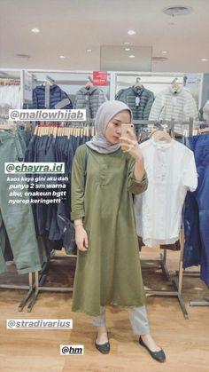 Hijab Fashion Summer, Modern Hijab Fashion, Hijab Fashion Inspiration, Muslim Fashion, Casual Hijab Outfit, Casual Outfits, Fashion Outfits, Hijab Fashionista, Outfit Look