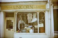 A shop named Unicorn?! YES, pretty please.