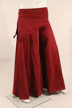 M057 Skirted Boho Pants