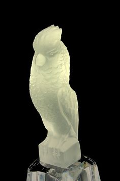 Fantastic Sevres Crystal Cockatoo from France  #teamsellit