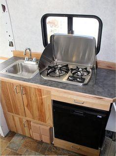 Coolest Design ProMaster Camper Van Conversion (17)