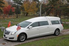 2015 Cadillac Crown Royal Funeral Coach by Armbruster Stageway