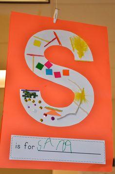 Free Kindergarten Idea: alphabet under construction letters - for learning… Kindergarten Names, Preschool Names, Preschool Literacy, Kindergarten Activities, Preschool Activities, All About Me Activities For Toddlers, Kindergarten Classroom, Alphabet Activities, Preschool About Me