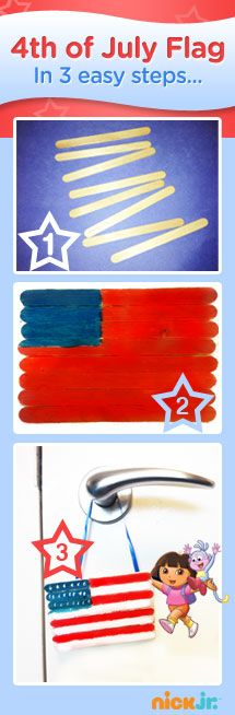 Find more 4th of July crafts on nickjr.com!