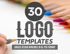 The showcase of unique carefully crafted professionally designed logo templates. All logos are very easy to modify and perfect for creating branding, visual Logo Design Template, Logo Templates, Conception Photoshop, Professional Logo Design, Patch Design, Photoshop Design, Design Files, Visual Identity, Custom Logos