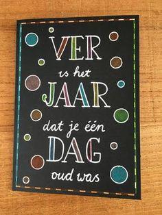 Bekijk de foto van helenatruus met als titel verjaardags kaart en andere inspirerende plaatjes op Welke.nl.