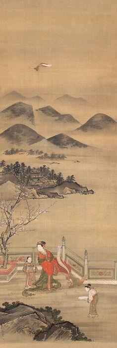 Qiu Ying (仇英) , 仕女