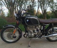 BMW R75/6 Bobber Bikes, Bmw Motorcycles, Bmw Motors, R80, Sports Models, Motor Car, Hot Wheels, Motorbikes, Formula 1