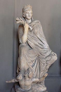 Tyche, copia romana, Musei Vaticani