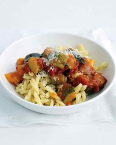 ratatouille with pasta ratatouille with pasta more short twisted ...