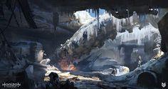 - https://www.artstation.com/artwork/GZ6xBArtStation - Horizon: Zero Dawn - Bunker concepts, Lloyd Allan