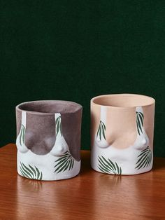 What started out as a middle fingertoart school, ended up becominga flourishing business for a Brooklyn based ceramicist. Isaac Nichols never imagined that an Instagram post,of a boob emblazoned ceramic pot made for his girlfriend, would make his comical pots an internet sensation. Years