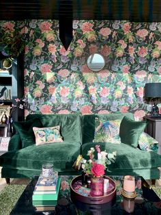 Claire Elsworth Design - Ento Placement Cushion - Entomologist's Garden Collection styled in our maximalist garden room. Luxury Maximalist home decor. Design Studio, House Design, Design Homes, Luxury Home Decor, Luxury Homes, Versailles, Maximalist Interior, Living Room Cushions, Luxury Wallpaper