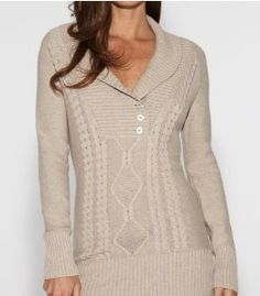 G by GUESS Women's Lorelei Tunic Sweater