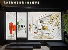 Cashmere in love flagship store in Istanbul, Bebek