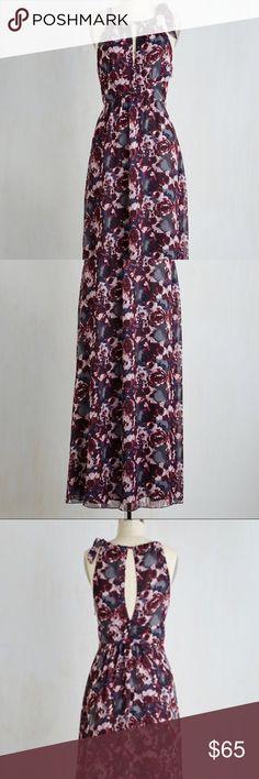 modcloth coconinno fetching in fresno maxi dress nwt medium modcloth dresses maxi