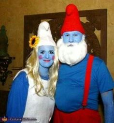 The Smurfs couples costume