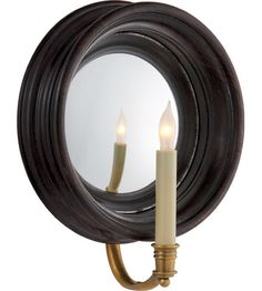 Shop for Visual Comfort CHD E. Chapman Casual Chelsea Medium Reflection Sconce in Tudor Brown at Foundry Lighting Wall Sconce Lighting, Candle Sconces, Visual Comfort Lighting, Circa Lighting, Modern Wall Sconces, Outdoor Walls, Lighting Design, Unique Lighting, Lighting Ideas