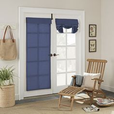 French Door Decor, French Door Windows, French Door Curtains, Windows And Doors, French Door Coverings, Patio Door Coverings, Patio Door Curtains, Wooden Front Doors, Sliding Patio Doors