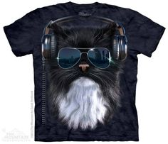 PRIKID - Cool Cat T-Shirt, 333kr (http://prikid.eu/cool-cat-t-shirt/)