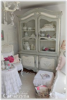 Cat-arzyna - credenza shabby chic                                                                                                                                                                                 More