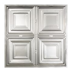 Silver, Metal Tile: Free Shipping on orders over $45! Whether your job is big or small, we've got the tile you need to get it done from Overstock.com Your Online Home Improvement Store! Get 5% in rewards with Club O!