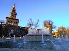 Bramantino a Milano - Castello Sforzesco nel Milano, Lombardia (29 Dicembre 2014)