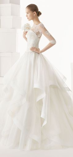 Rosa Clara 2014 Spring Bridal Collection (II)