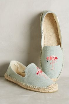 Soludos Watermelon Espadrilles #anthrofave