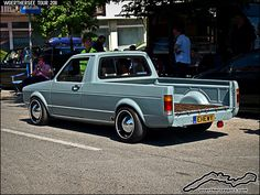 VW Golf Mk1 Caddy Pickup by retromotoring, via Flickr