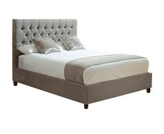 We stock a huge range of bed frames in various styles to suit any bedroom. Browse online or visit our bed specialists in store. Upholstered Bed Frame, Cosy, Bedrooms, Fabrics, Suit, Range, Deep, Contemporary, Interior