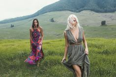 TAKE A WALK ON THE WILD SIDE IN THE BILLABONG VOYAGER MAXI DRESS