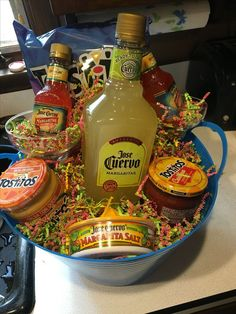 31 Christmas Gift Basket Ideas for Everyone 31 Christm. 31 Christmas Gift Basket Ideas for Everyone 31 Christmas Gift Basket Idea Liquor Gift Baskets, Themed Gift Baskets, Diy Gift Baskets, Wine Baskets, Christmas Gift Baskets, Diy Christmas Gifts, Holiday Decor, Theme Baskets, Christmas Present Basket Ideas