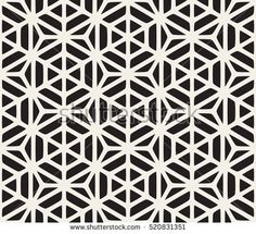 Vector Seamless Black And White Geometric Hexagon Rounded Grid Pattern. Abstract Geometric Background Design. Geometric Pattern Tattoo, Geometric Tattoo Sleeve Designs, Geometric Tattoos Men, Geometric Mandala Tattoo, Geometric Stencil, Sacred Geometry Tattoo, Geometric Designs, Abstract Pattern, Pattern Tattoos