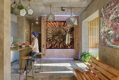 Un appartement atypique au design intérieur fortement inspiré par la culture persane