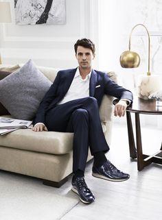 Matthew Goode for Hogan Shoes