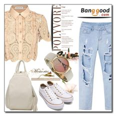 Banggood 15 / VI by esma178 on Polyvore featuring polyvore fashion style self-portrait modern clothing
