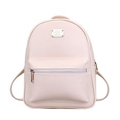 Tonlili Cool Leather Mini Womens Backpacks Purse Shoulder Bags Beige ** Be sure to check out this awesome product.