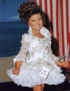 Glitz Pageant Dresses For Girls Little Girl Gowns Sleeve Beads Crystal Rhinestone Ruffles cupcake pageant dress White Pageant Dresses, Toddler Pageant Dresses, Pagent Dresses, Little Girl Pageant Dresses, Cheap Flower Girl Dresses, Girls White Dress, Girls Pageant Dresses, Prom Gowns, Flower Girls