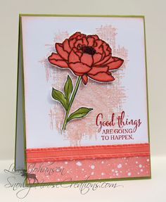 Snowy Moose Creations: Good Things for Sunday Stamps Stampin Up You've Got This